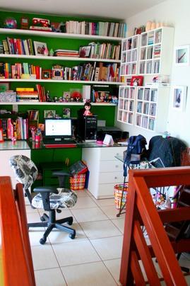 ワークスペース,書斎,棚,本棚,作り付け